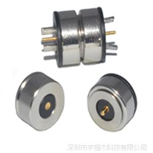 供应磁铁公母接头连接器 磁吸公母接头连接器 磁性公母接头连接器