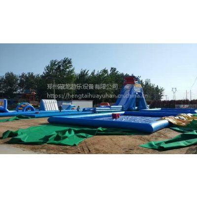大型支架水池 户外室外移动支架游泳池 成人儿童充气水上乐园厂家