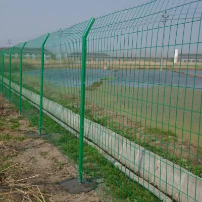 惠州空地界线围栏网供应 园林绿化隔离网 现货浸塑铁丝