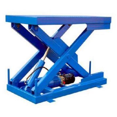 剪叉式升降平台清远广州厂家直销车间专用液压升降机升降货梯