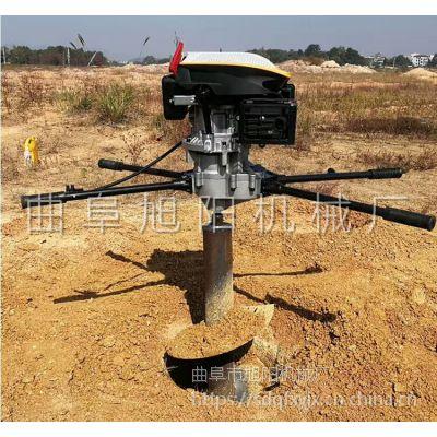 厂家热卖9马力大功率挖坑机 润通汽油225cc植树机 果园园林施肥打洞机