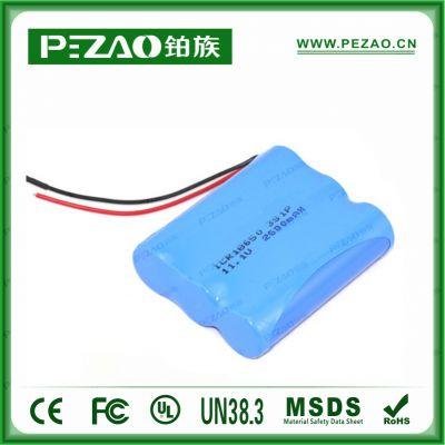 铂族电池 镇痛泵电池/B超仪电池/心电图电池/输液泵锂电池组/18650锂电池组