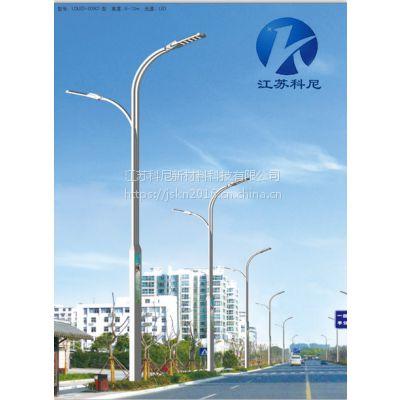 台州城市道路10米双臂路灯 衢州LED高低臂路灯 科尼星玉兰景观灯