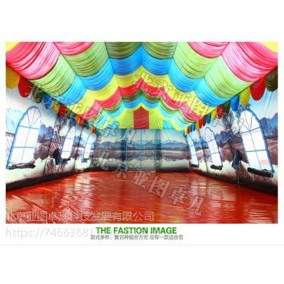 大型充气帐篷房事宴婚宴流动餐厅超大红白喜事酒席婚庆大棚
