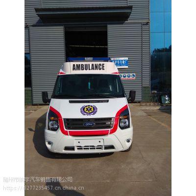 国五福特全顺新世代V348监护型救护车改装,全顺救护车厂家