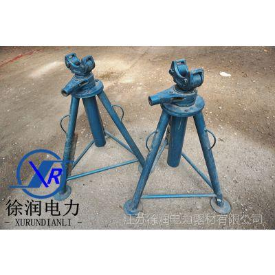 三条腿放线架手扳式放线架螺旋放线架电缆放线器放线 3T 5T