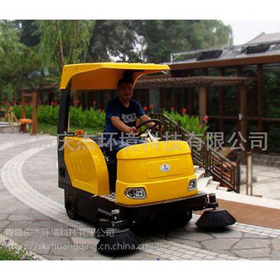 山东小区用电动扫地车庆杰物业扫地车