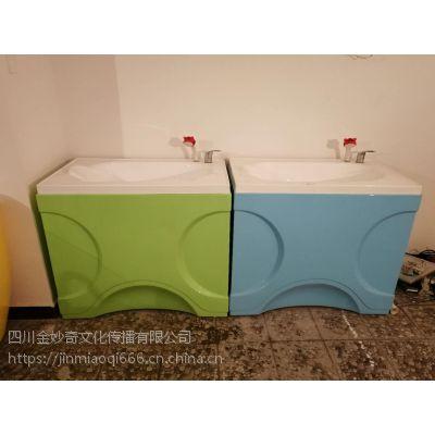 环保亚克力材质婴儿洗澡盆平底造型可选使用方便