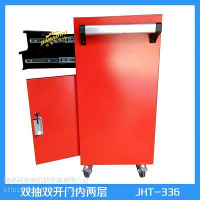 全国发货手推工具柜承重高 定制工作台工具车涞源县厂家