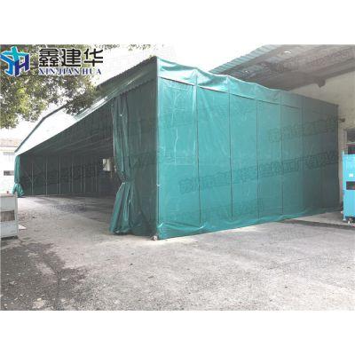 宝山区活动移动室外雨棚定做厂家_布伸缩推拉工厂仓储篷供应