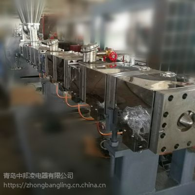 山东中邦凌P007塑料母粒机直角节能加热器 厂家定制