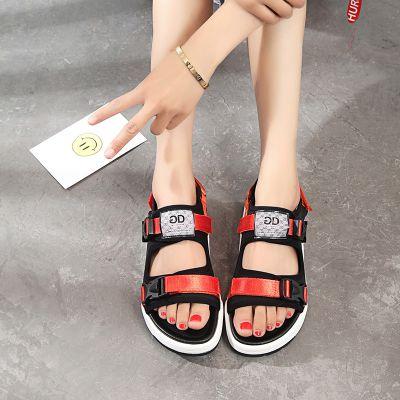 2017新款休闲凉鞋沙滩鞋透气女鞋 温州生产厂家代理加盟