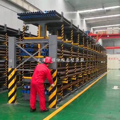 镇江钢结构货架平台 阁楼式货架 ZY2018022404