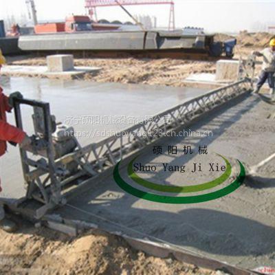 硕阳机械11米全钢框架式整平机混凝土振动梁