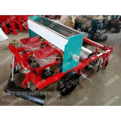 多规格玉米精播机 拖拉机带动油葵播种机 甘肃沙土地向日葵覆膜机