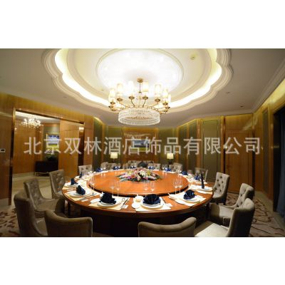 高端餐厅灯具定制 酒店大堂中式水晶LED灯定制