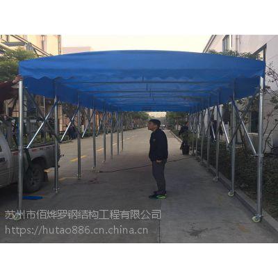 宁波慈溪市户外天幕遮阳蓬结构图/加厚加固型推拉蓬/江门活动雨棚布