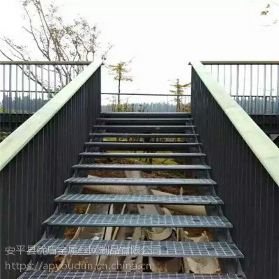 河北地沟格栅板 平台钢格栅板质量生产河南楼梯踏步板