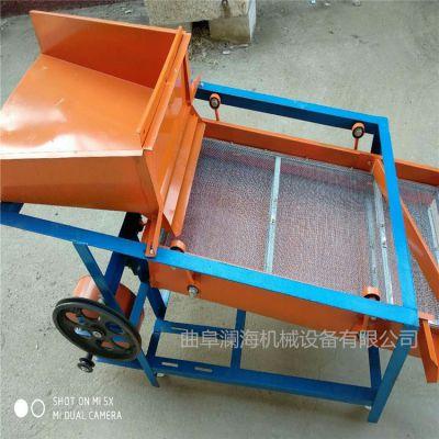 双层振动筛粮食精选机 小麦玉米筛选机 粮食去石机