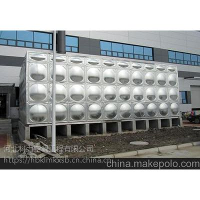 河北大容量不锈钢水箱 保温不锈钢拼接水箱