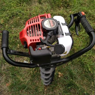 供应志成果树施肥打眼机单人手提式挖坑机二冲程汽油植树打窝机
