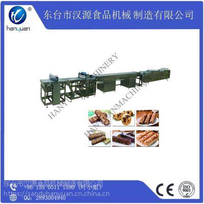 厂家直销汉源HY-68S带制冷分条多功能营养谷物棒切块机
