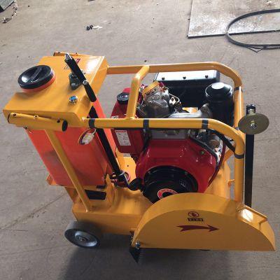 手扶式柴油马路切割机 电动路面切割机 马路切缝机