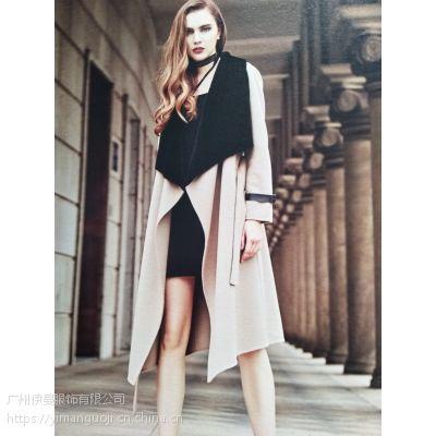 潮牌时尚女装风衣外套折扣尾货库存批发 一手货源 me风衣女装