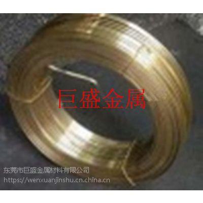 供应H65黄铜扁线,H65黄铜方线,质量保证
