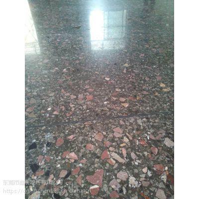 广州黄埔水磨石晶面处理/荔湾旧地坪翻新/水磨石固化地坪施工