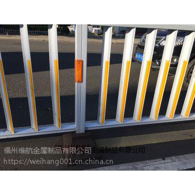 厂家直销 城市道路隔离防撞栏 道路护栏 公路安全防护 京式护栏