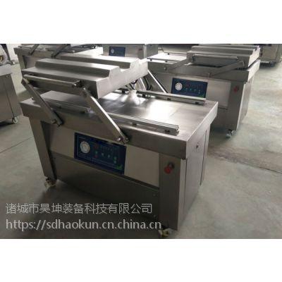 潍坊昊坤600/2S熟食,烧鸡,烧肉真空包装机直销