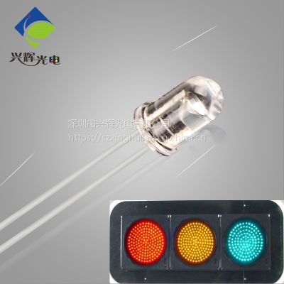 XHUI泰谷芯片交通灯LED,绿光灯珠,高亮度发光二极管,用于交通信号灯