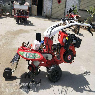 普航手扶式开沟培土机 操作方便手把可360度旋转式锄草机