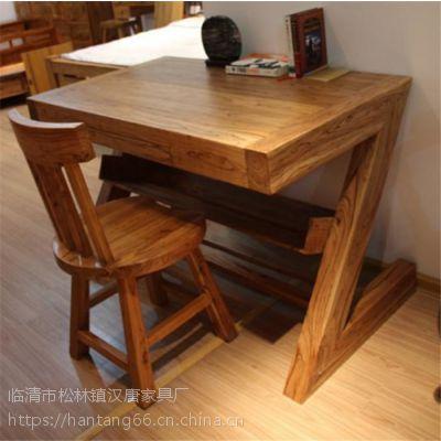 老榆木实木家具——别致中的古典风