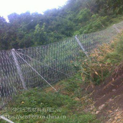 雨季来临;成雅高速多处滑坡急需安装RXI-100被动防护网治理