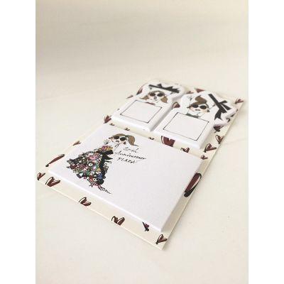 定制带底卡的异形便签组合-博艺印刷品