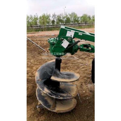 车载式电线杆挖坑机 加长钻头挖坑机
