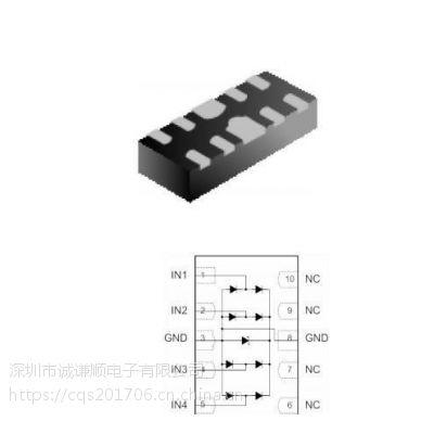 芯导品牌ESD静电二极管PESDALC10N5VU现货