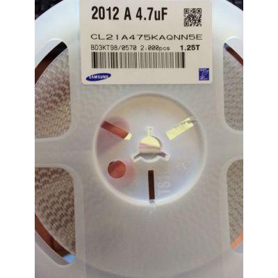 CL21A475KAQNN5E 0805 X5R 4.7UF K 25V三星贴片电容库存现货