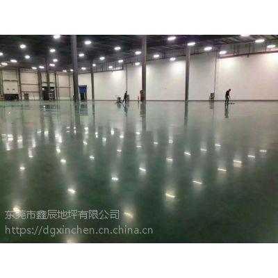 广州市从化厂房金刚砂抛光---地面起灰处理---金刚砂固化地坪、安全环保