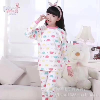 义乌小商品批新哥地摊货源儿童保暖内衣套装7-13岁微信935015705或电话18357971086