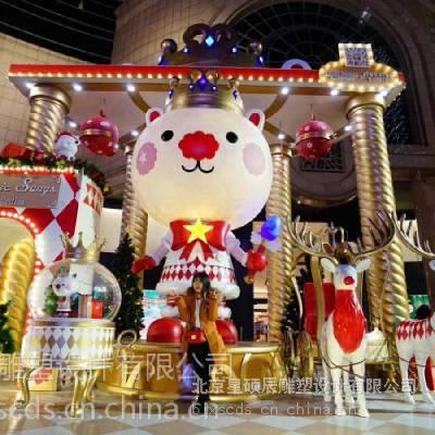春节装饰 商场美陈 中控装饰 DP雕塑 北京星硕辰雕塑设计美陈厂家