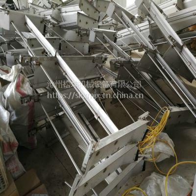 河南洛阳羊圈刮粪机 驻马店羊舍刮粪板 羊场清粪机 不锈钢材质刮粪板 1.5kw主机