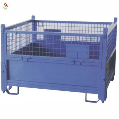 实用折叠式仓储笼 交货快仓库笼 非标折叠式仓库笼