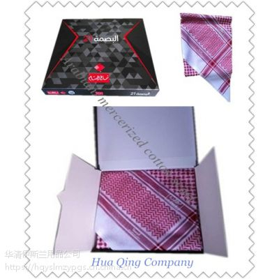 阿拉伯高档丝光棉头巾 Arabian mercerized cotton scarf