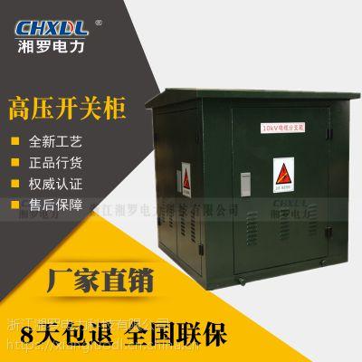 湘罗电力DFW-12欧式高压电缆分支箱不锈钢一进二出