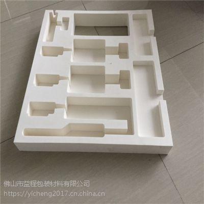 佛山EVA内衬制品加工定制 黑色白色彩色EVA海绵包装盒 缓冲垫