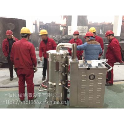 焚烧炉配套吸高温灰尘用威德尔7.5KW大功率工业吸尘器高温车间用吸尘设备