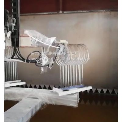 福建球拍厂专用静电喷涂机 鹏鲲专注11年高效省成本羽毛球拍静电喷涂机